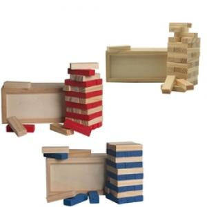 Wood Tower Puzzle