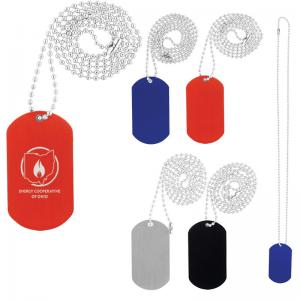 Military-Style Dog Tag