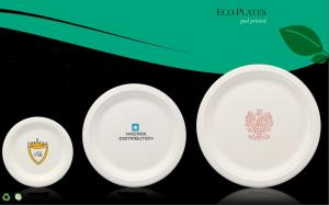 Eco-Friendly Recycled Paper Plate