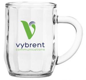 10 oz. Optic Glass Mug