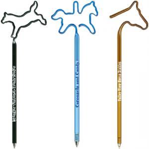 Horse Shaped Bent Pen