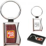 Stanford Two-Tone Chrome Key Tag