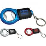 Franklin Bottle Opener Keychain with LED Light