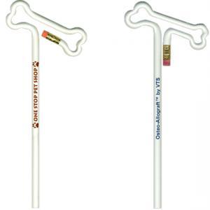 Bone Shaped Bent Pencil