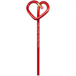 Heart Shaped Bent Pencil