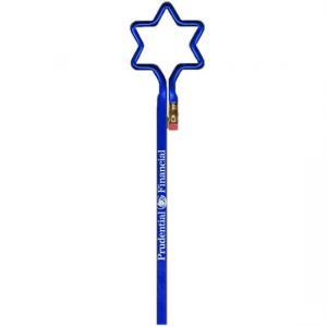 Star of David Shaped Bent Pencil