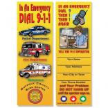911 Emergency Bookmark