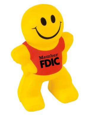 Smile Face Figure Stress Reliever with Shirt