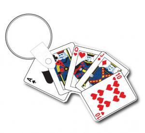 Playing Card Keychain