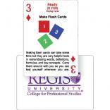 A+ Study Tips Playing Cards