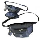 Waist Pack with Quick Access Gun Compartment