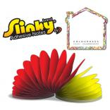 House Shaped Slinky Note Pad