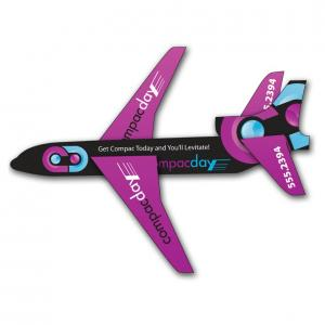 Fly Away Paper Jet with UV Coating