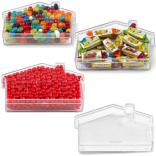 "6"" House Shaped Candy Container"