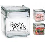 32 oz. Square Glass Jar