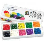 10 Flavors of Gourmet Jelly Beans in Box