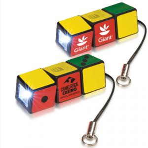 Rubik's Cube Pocket Flashlight