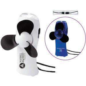 Mini Turbo Flashlight Fan