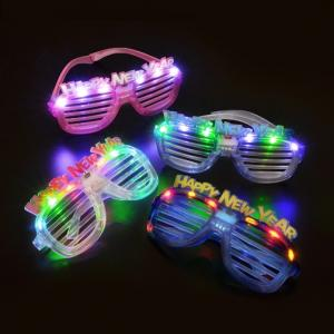 New Year Light Up Glasses