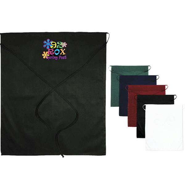 Full Waist Imprinted Apron (Fusion Embroidery)