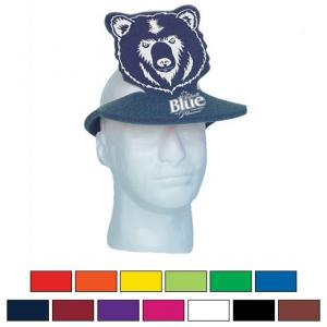 Foam Bear Pop-Up Visor