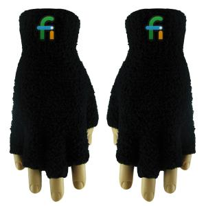 Fuzzy Fingerless Gloves (Fusion Embroidery)