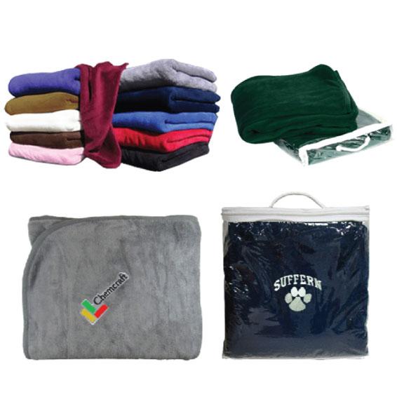 Cozy Fleece Blanket - Fusion Embroidery