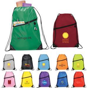 Cinch N' Go Drawstring Backpack