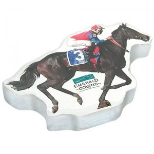 Race Horse Shaped Compressed T-Shirt