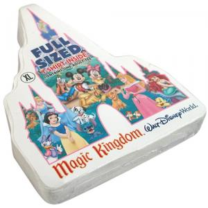 Compressed Magic Kingdom Shaped T-Shirt