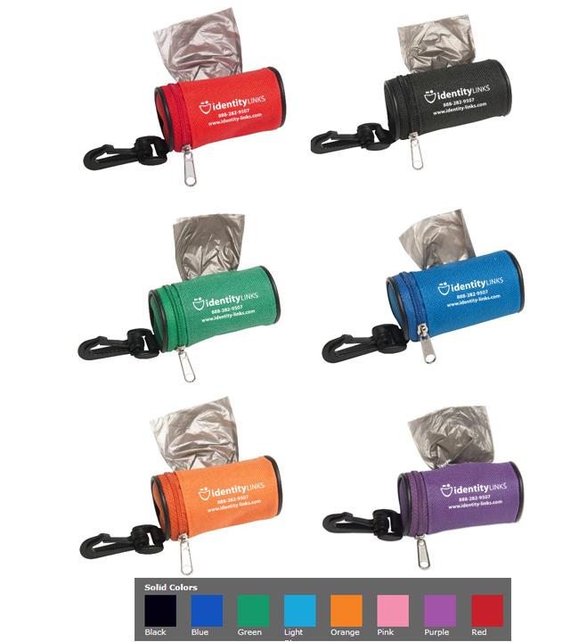 Poop Bag Dispenser with Keychain