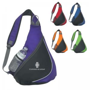 Bright Colors Sling Backpack with Padded Strap