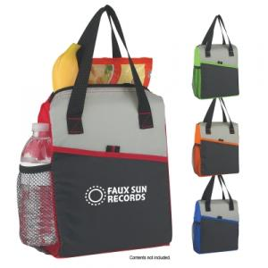 Deluxe Lunch Tote with Side Pockets