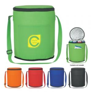 Kenmore Round Cooler Bag with Carrying Strap
