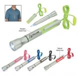 Bright Idea Flashlight with Light-Up Pen and Lanyard