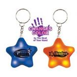 Color Changing Mood Star Keychain