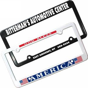 Plastic License Plate Frame