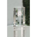 Eagle Optical Crystal Timepiece