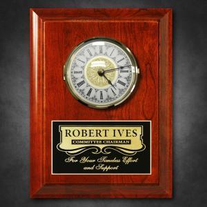Wooden Award Clock