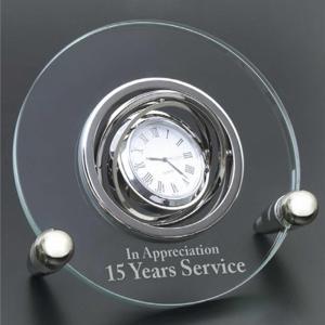 Circular Elegant Award Clock