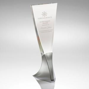 Tapered Tower Crystal Award