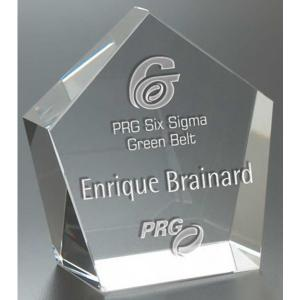Crystal Pentagon Award
