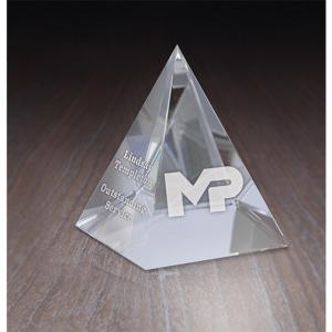 Classic Pyramid Crystal Award