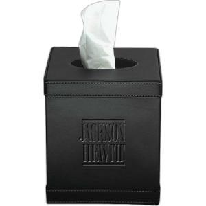 Leather Executive Tissue Box