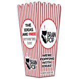 Coated Paper Popcorn Box