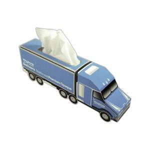 Semi Truck Shaped Facial Tissue Box