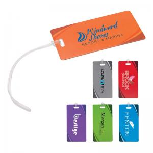 Economy Luggage Tag with Silicone Strap