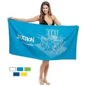 Low Cost  8.0Lb./Doz. Imprinted Beach Towel