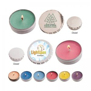 Snap Top Tin Soy Candle