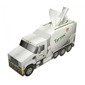 Cement Truck Shaped Tissue Box